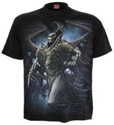 Winged Skeleton T - Shirt, schwarz