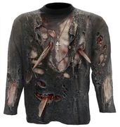 Zombie Wrap Langarm Shirt