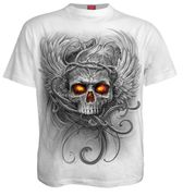 Roots of Hell T - Shirt, weiß