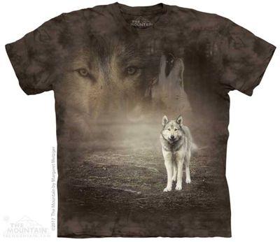 Grey Wolf Potrait T Shirt