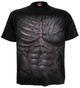 Ripped T - Shirt, schwarz 001