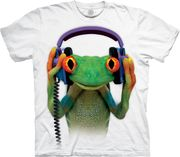 DJ Peace Frog T Shirt