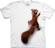 Peace Squirrel T Shirt
