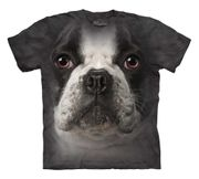 French Bulldog Face T Shirt