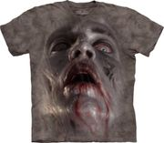 Zombie Face T Shirt