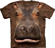 Hippo Head T Shirt