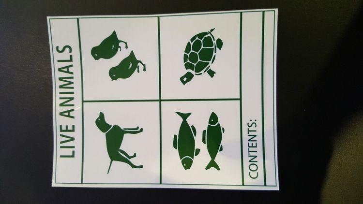 Live Animal Sticker