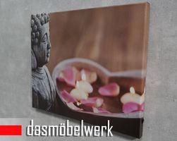LED-Bild Wandbild mit Beleuchtung Leuchtbild Leinwand Buddha – Bild 3