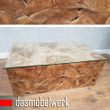 Recycling Teak Holz Beistelltisch Couchtisch Kaffee Tisch ROOT 100 cm 001