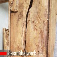 XXL Wandspiegel Spiegel Wurzel Teak Holz Rahmen 160 cm   – Bild 3