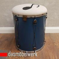Hocker Music in blau – Bild 2