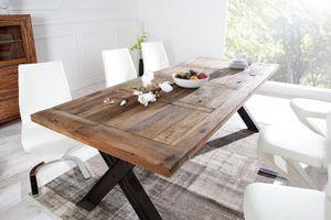 Esstisch Massivholz Tisch 230 cm Industrie Design Esszimmer 02.062.03 – Bild 2