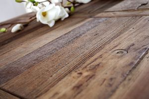 Esstisch Massivholz Tisch 230 cm Industrie Design Esszimmer 02.062.03 – Bild 3