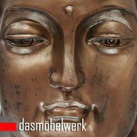 XL Buddha Deko Kopf 54 cm Figur Feng Shui Asia Skulptur S082 A-Kupfer – Bild 4
