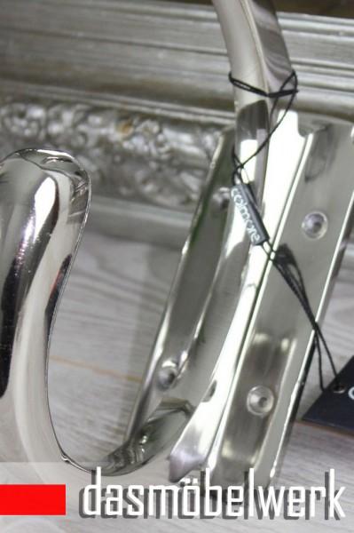 COLMORE XXL Wandhaken Alu Wandgardorbe Garderoben Doppel Haken Silber – Bild 2