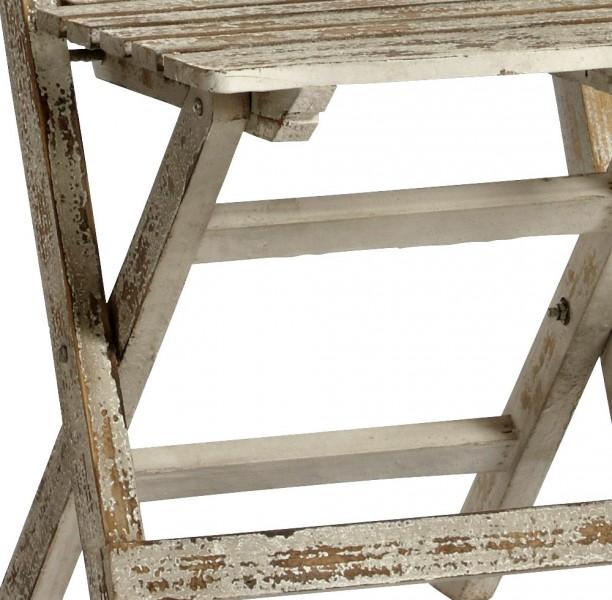 Klappstuhl Stuhl Deko Sitzmöbel klappbar Shabby Chic Design 13.170.02 – Bild 3