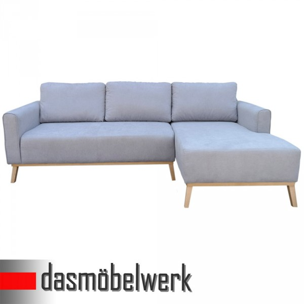 campos polsterecke eck sofa retro couch garnitur ottomane rechts grau. Black Bedroom Furniture Sets. Home Design Ideas