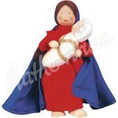 Käthe Kruse 66554 Waldorf Biegepuppe Maria mit Kind