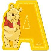 Sevi 82759 Klebebuchstabe A Winnie the Pooh