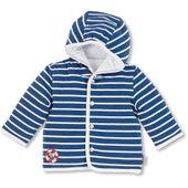 Sterntaler 2611730-62-356 Kapuzen-Jacke Jersey Erwin-62-blau