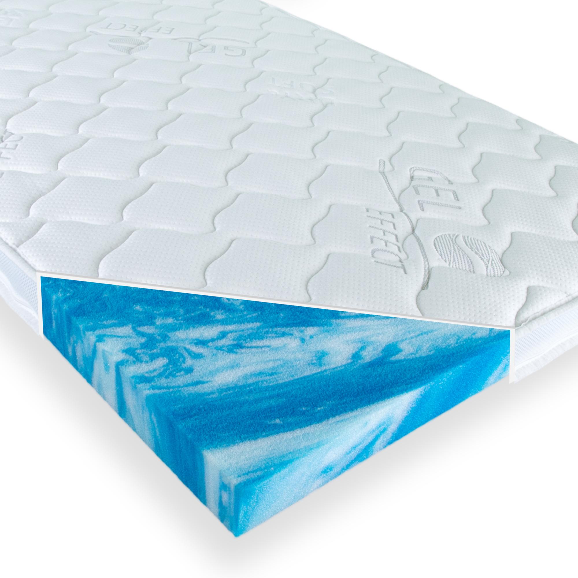 Gelschaum Topper Hydroblu Gel Matratzentopper Komfort