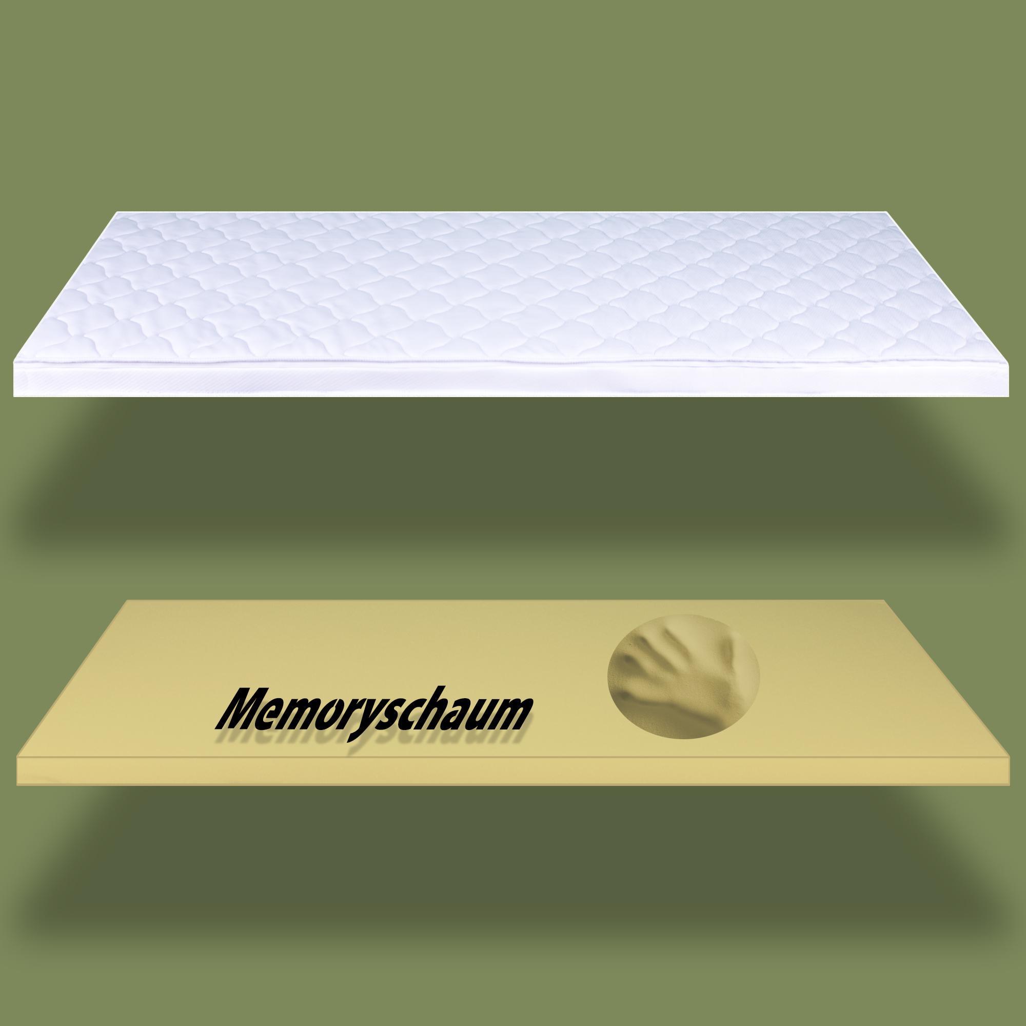 matratzen topper gelschaum kaltschaum memoryschaum viskoschaum matratzenauflage ebay. Black Bedroom Furniture Sets. Home Design Ideas