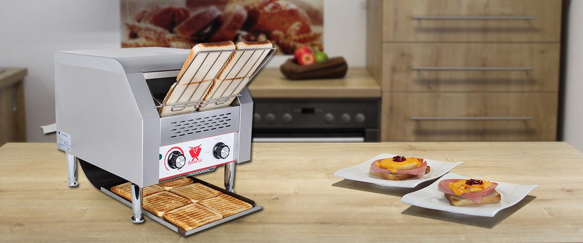 Beeketal Gastro Toaster Durchlauftoaster