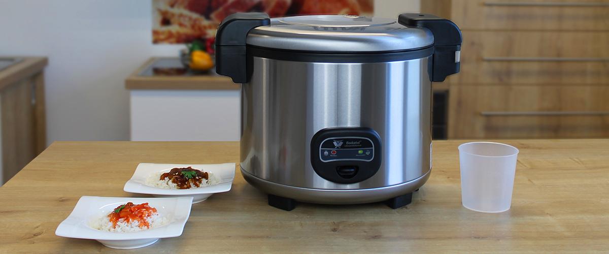 Beeketal Gastro Reis Kocher Reiskocher