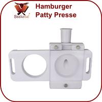 Beeketal Hamburger Patty Presse Aufsatz für Wurstfüller BT-PATTY