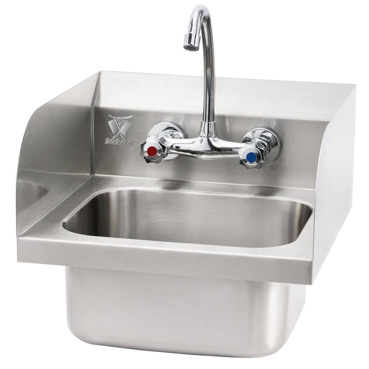 beeketal gastro edelstahl handwaschbecken waschbecken. Black Bedroom Furniture Sets. Home Design Ideas