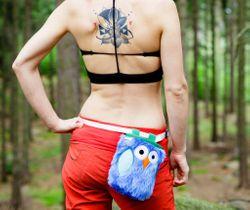 Crafty Climbing - Owl (Eulen Chalkbag)  – Bild 2