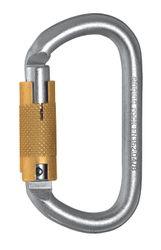 SINGING ROCK - Stahlkarabiner OVAL STEEL CONNECTOR screw