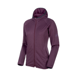 Nair ML Hooded Jacket Women Hiking Midlayer Jackets - Mammut