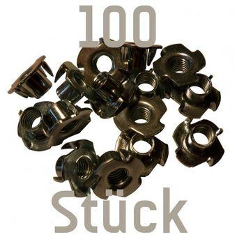 100 Einschlagmuttern M10 für Klettergriffe – Bild 1