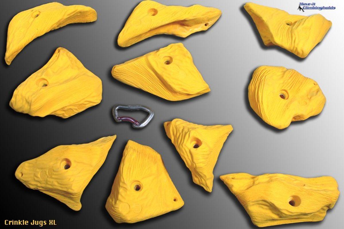 Crinkle Jugs XL Klettergriffe XL von Move-it-Climbingholds