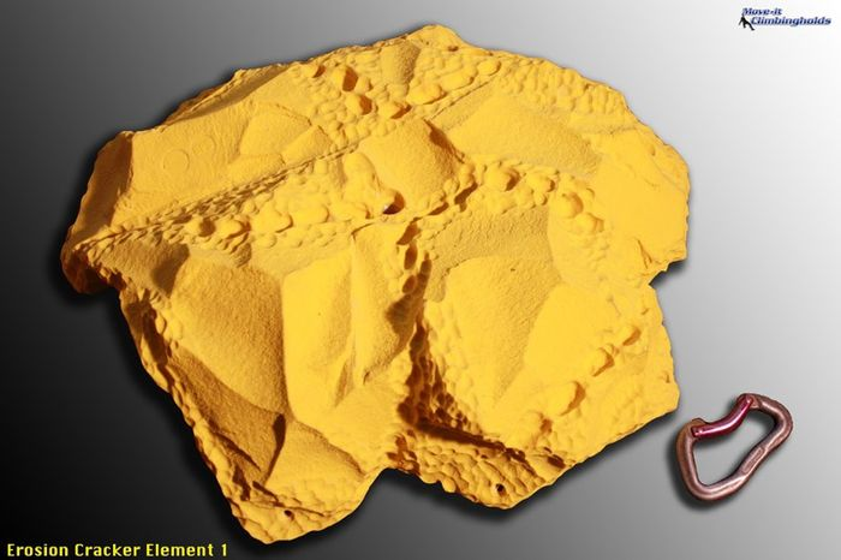 Erosion Cracker Element 1 Klettergriffe XXL von Move-it-Climbingholds