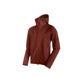 Mammut Base Jump SO Hooded Jacket Men Softshell Jackets/Vests