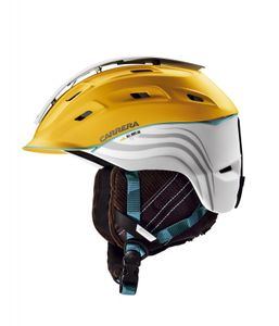 Carrera Enigma 2.13 Mountain Skihelm yellow white matte