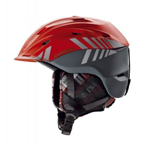 Carrera Makani 2.13 Mountain Skihelm red anthracite matte