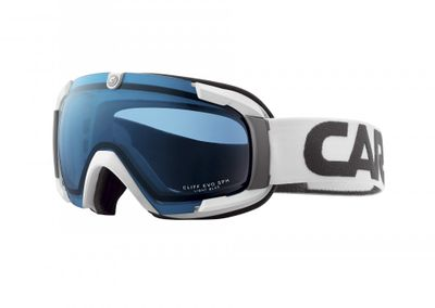 Carrera Cliff Evo Sph, Allmountain-Skibrille, white stripes – Bild 1