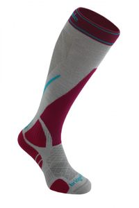 Bridgedale MerinoFusion™ Winter Sport Vertige Light Damenfunktionssocken - silver/pink – Bild 1