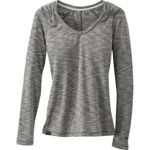 Outdoor Research - Flyway L/S Shirt Womens - Pewter/Alloy