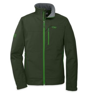 Outdoor Research - Transfer Softshell Jacket Men - Evergreen – Bild 1