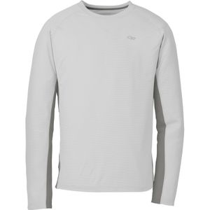 Outdoor Research - Echo L/S Duo Tee Men - Alloy/Pewter