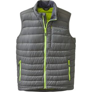 Outdoor Research - Transcendent Vest Men - Pewter/Lemongrass