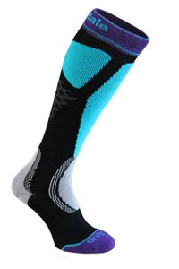 Bridgedale MerinoFusion™ Winter Sports Alpine Tour Damenfunktionssocken - black/turquoise  – Bild 1