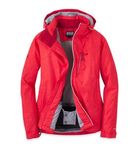 Outdoor Research - Igneo Jacket Women - flame/white print