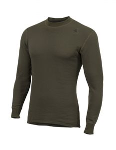 Aclima Hotwool 230g Unisex Crew Neck Shirt - olive night