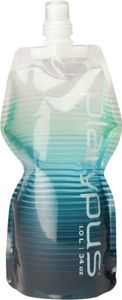 Platypus- Soft Bottle 1L Closing Cap - Blue Stripes