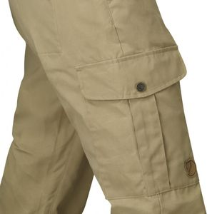 Fjällräven - Övik Trousers Curved Women - Uncle Blue – Bild 3
